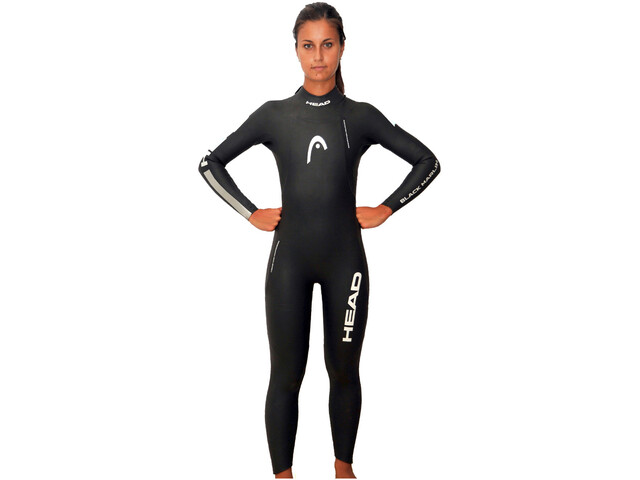 Head Black Marlin 5.3. 1,5 Fullsuit Women, black/silver